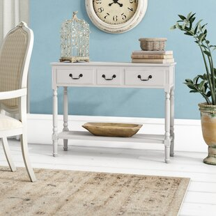 Review Agatha 3 Drawer Console Table