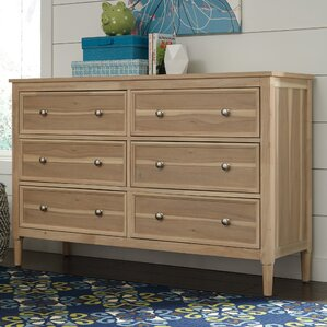 Orlovista 6 Drawer Double Dresser by Rosecliff Heights
