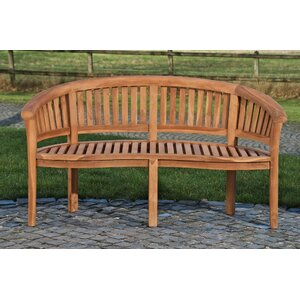 3-Sitzer Gartenbank Winnie aus Massivholz von dC..