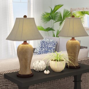 Apel Rattan Resin 29.5 Table Lamp (Set of 2)