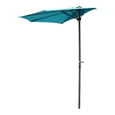 Dade City North 9 Half Market Umbrella by Beachcrest Home Top Reviews