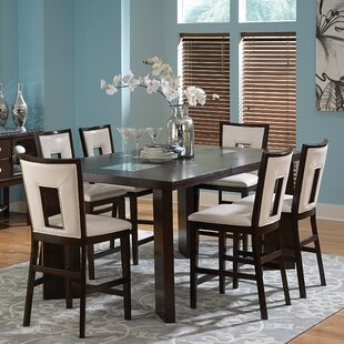 Hillcrest 7 Piece Counter Height Extendable Dining Set