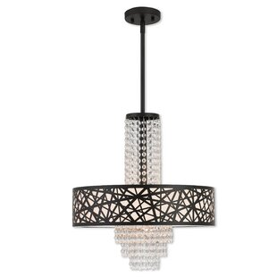 Everly Quinn Bottorff Bird Nest 4-Light D..