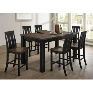 Landrum 7 Piece Dining Set by World Menag..