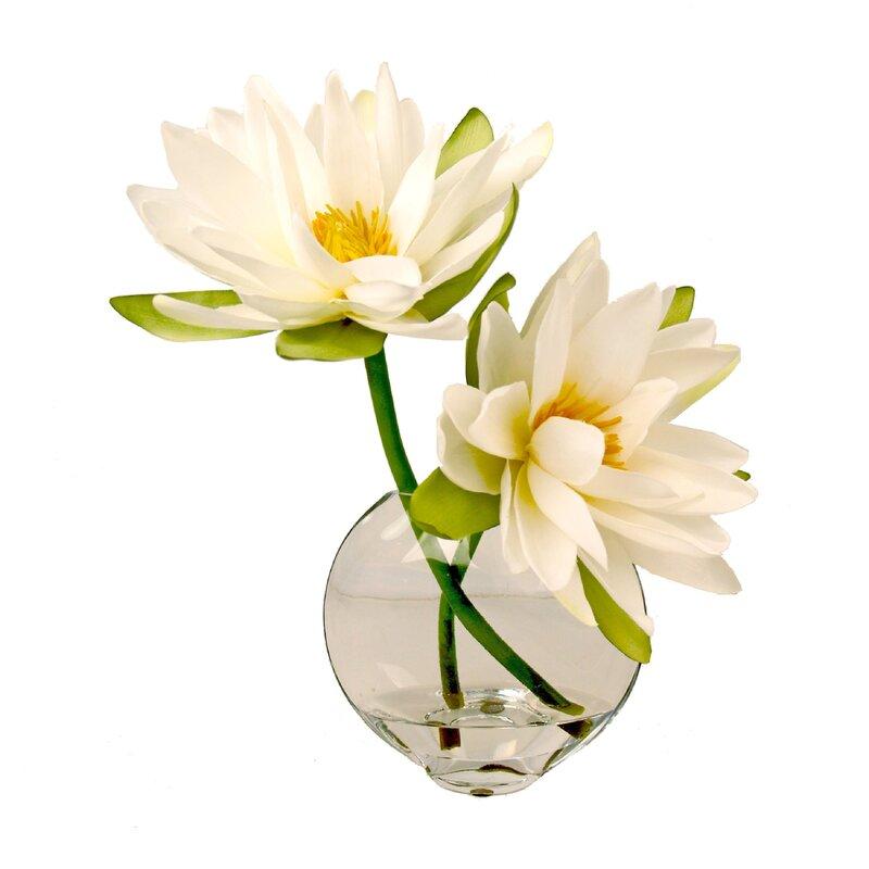 Creative Displays Inc Faux Lotus Floral Arrangement Reviews