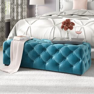 Bortz Tufted Ottoman by Willa Arlo Interiors