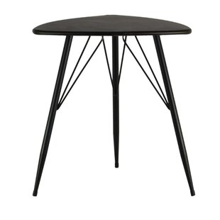 Dowe Metal Triangular End Table by Ivy Bronx