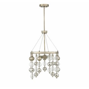 Maclachlan 3-Light Crystal Chandelier by ..