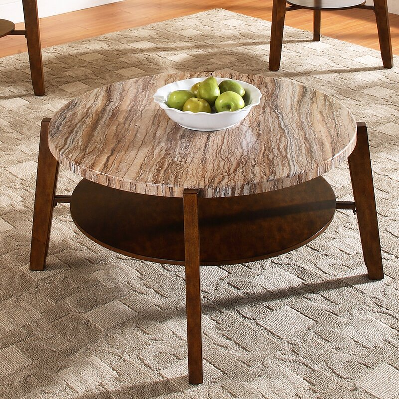 Steve Silver Furniture Tivoli 3 Piece Coffee Table Set Reviews Wayfair