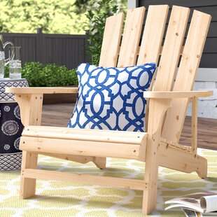 Charlton Home Allard Falls Solid Wood Adirondack Chair