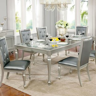 Lindsay 7 Piece Drop Leaf Dining Set Rosdorf Park