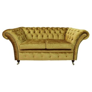 Westward 2 Seater Chesterfield Sofa By Canora Grey