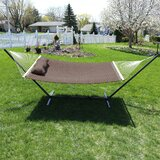 Angelo Quilted Designs Double Spreader Bar Hammock with Stand