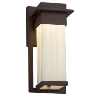 Comparison Salaam 1-Light Outdoor Sconce By World Menagerie
