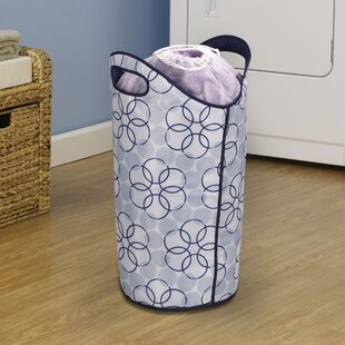 Household Essentials Magic Ring Soft Side Laundry Hamper
