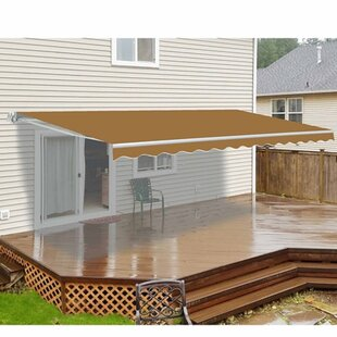 ALEKO 20 ft. W x 10 ft. D Retractable Patio Awning
