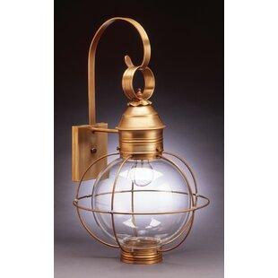 Best Choices Onion 2-Light Outdoor Wall Lantern By Northeast Lantern
