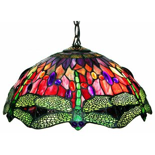 August Grove Quince 2-Light Dome Pendant