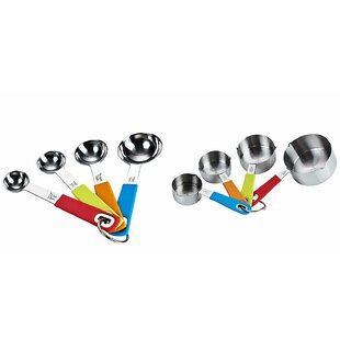 Cook N Home 8 Piece Measuring Spoon & Cup Set ByCook N Home