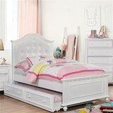 Hickman Twin Platform Configurable Bedroom Set by One Allium Way®