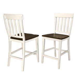 Aguero Slatback Solid Wood Dining Chair (Set of 2)