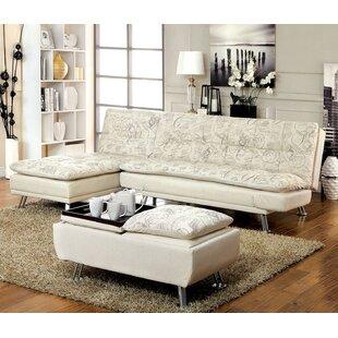 A&J Homes Studio Hauser Sleeper 3 Piece Living Room Set