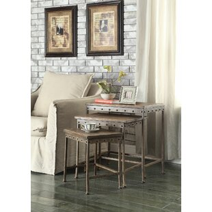 17 Stories Annabel 3 Piece Nesting Tables