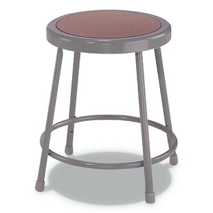 Ullrich Industrial/Shop Stool by Williston Forge Fresh