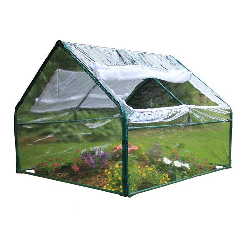 Zenport 4 Ft W X 4 Ft D Cold Frame Greenhouse Reviews Wayfair