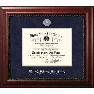 Air Force Discharge Executive Picture Frame By Patriot Frames