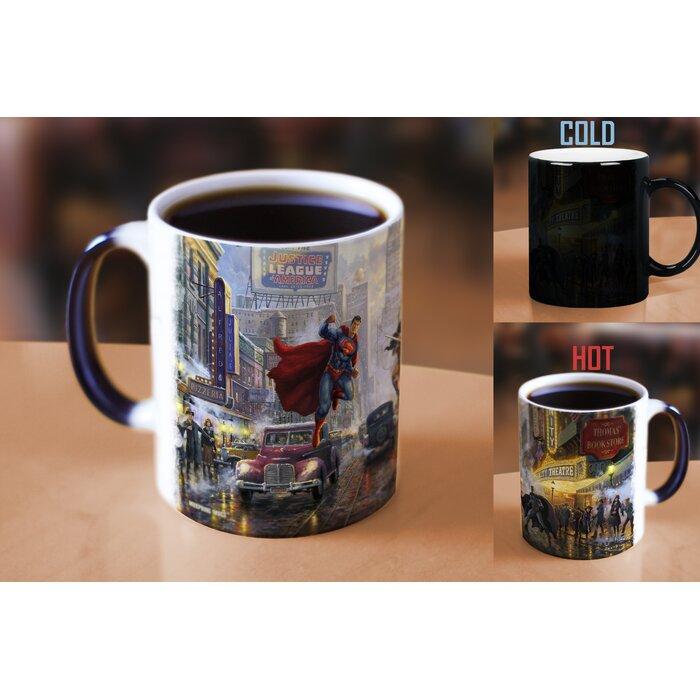 WONDER WOMAN DEFEND COFFEE MUG JUSTICE LEAGUE CUP DC COMICS