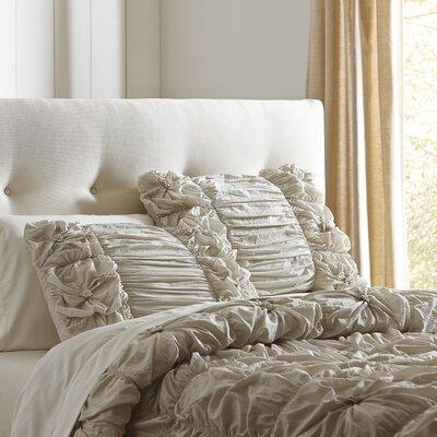 Pfeiffer Comforter Set Size: King, Color: Grey
