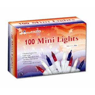 Penn Distributing 100 Light Patriotic Mini Set
