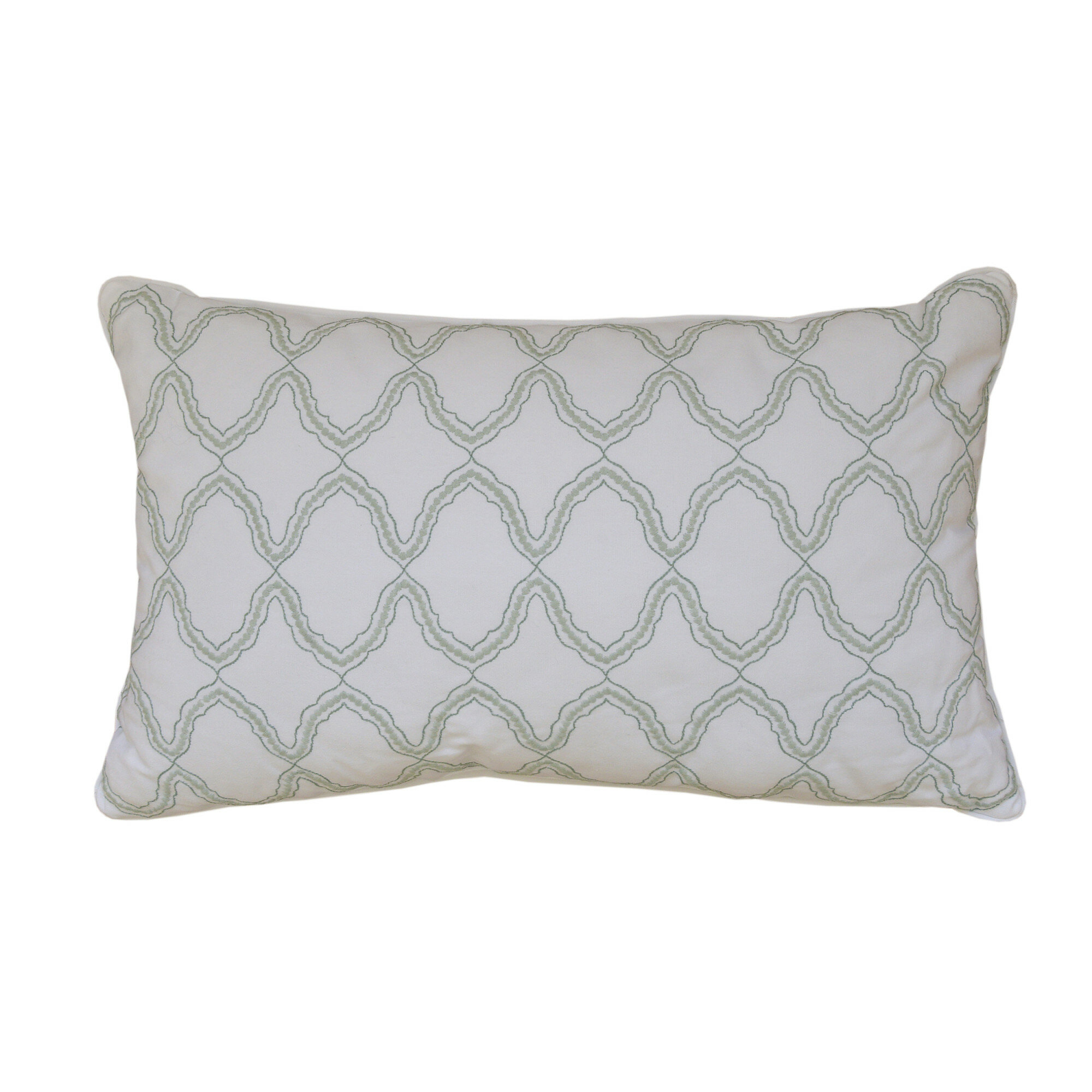 Highland Dunes Synthia Cotton Lumbar Pillow   Reviews  acc71f9b4