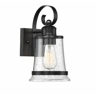Gracie Oaks Yelverton LED Outdoor Sconce