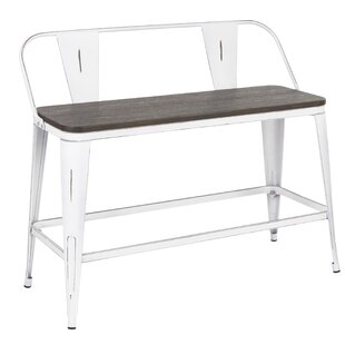 Claremont Metal/Wood Bench