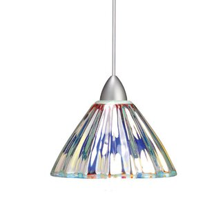 WAC Lighting European Eden 1-Light Cone P..