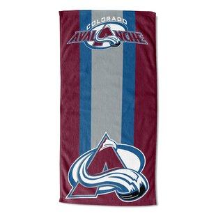 NHL Breakaway Micro Raschel Beach Towel By Northwest Co.