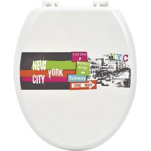 Evideco Urban NYC Elongated Toilet Seat