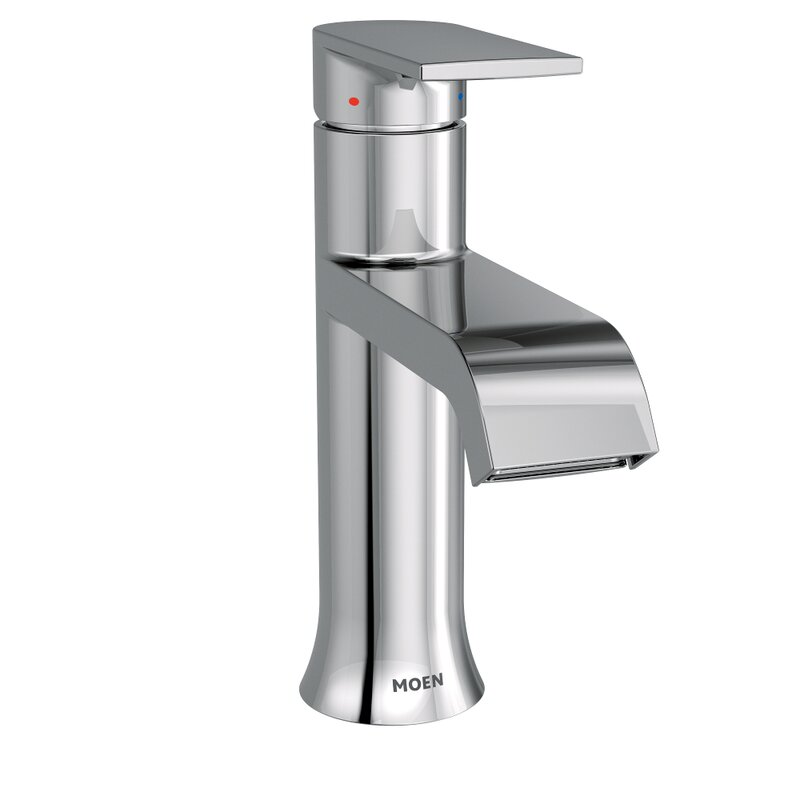Moen Genta Bathroom Faucet with Drain Assembly & Reviews | Wayfair