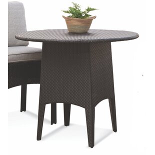 Wicker/Rattan Dining Table by Braxton Culler