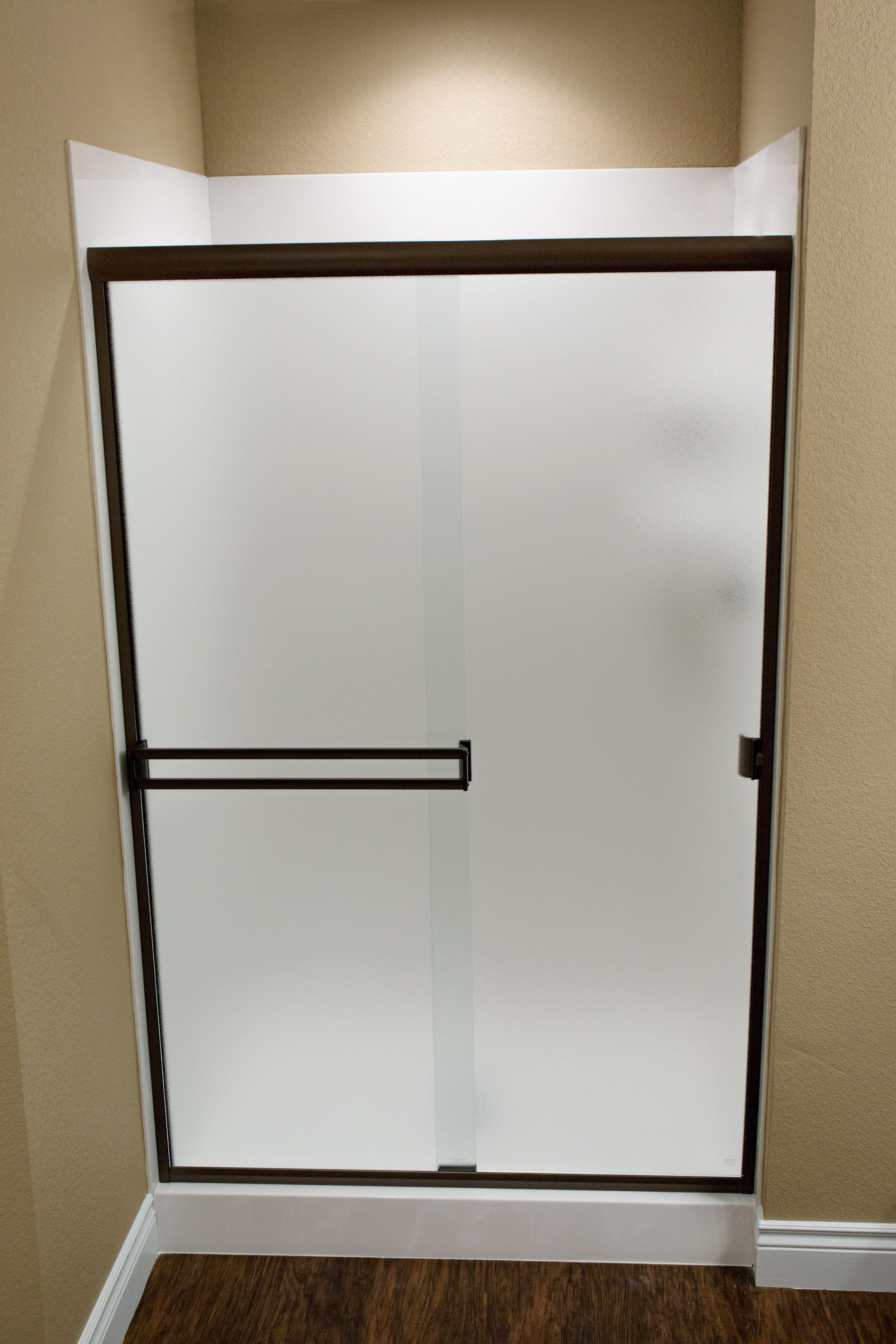 Taneycomo 58 X 55 Bypass Semi Frameless Shower Door