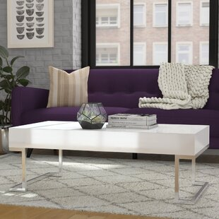 Workman Modern Coffee Table with Tray Top
