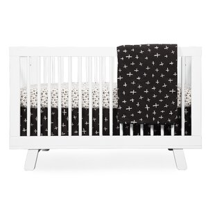 Best Price Tuxedo Monochrome Arrows Fitted Crib Sheet Bybabyletto