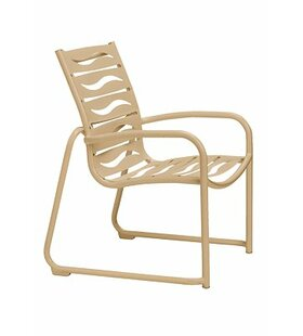 Check Out Millennia Stacking Patio Dining Chair with Cushion Good price