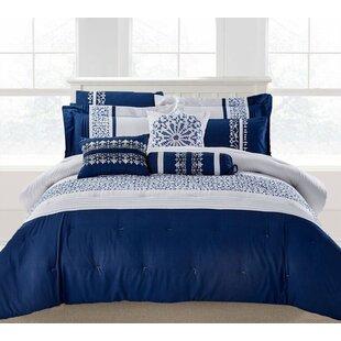 Red Barrel Studio Hempstead 9 Piece Comforter Set
