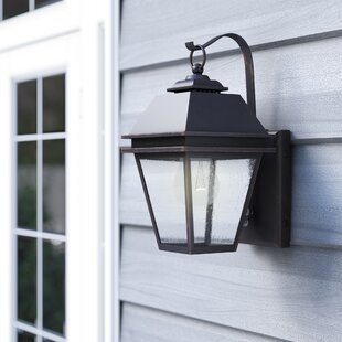 Daughtrey 1-Light Outdoor Wall Lantern By Three Posts Outdoor Lighting