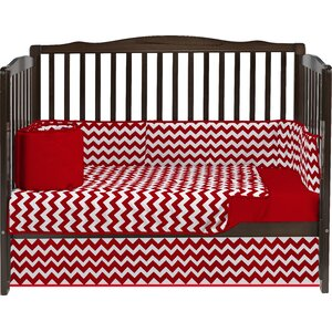Clint 4 Piece Crib Bedding Set