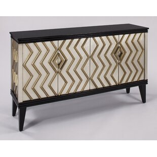 Artmax Cabinet with 4 Doors Accent Cabinet