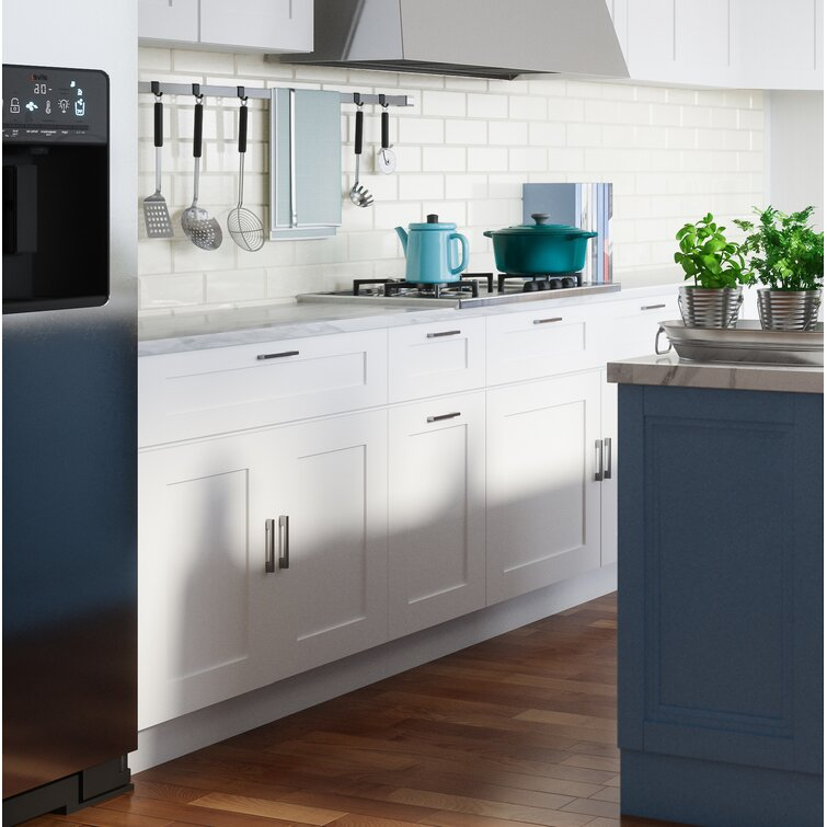 Ebern Designs Frits Shaker 36 X 18 Kitchen Wall Cabinet Wayfair Ca